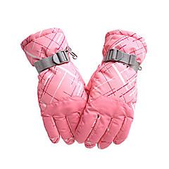قفازات التزلج للرجال للمرأة الدفء مقاوم للماء ضد الهواء متنفس مضاد للثلج تفتيل واقي مضاد للانزلاق أكسفورد التزلج التسلق رياضة وترفيه