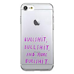 Для Чехлы панели Ультратонкий С узором Задняя крышка Кейс для Панорама города Мягкий TPU для AppleiPhone 7 Plus iPhone 7 iPhone 6s Plus