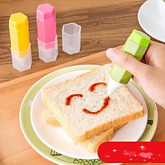 お買い得  ベイキング用品&ガジェット-ベークツール プラスチック エコ / DIY サンドイッチのための / 出芽 / キャンディのための 装飾用具