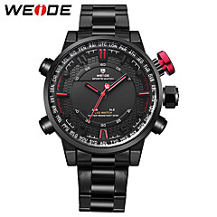 WEIDE Men's Sport Watch Fashion Watch Japanese Quartz Digital Japanese Quartz Alarm Calendar / date / day Water Resistant / Water Proof