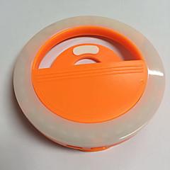 Luz del teléfono móvil llevó la lámpara del contador de tiempo usb que carga la luz de la noche del flash luz incorporada de la batería de