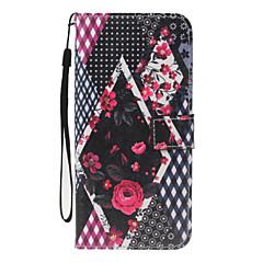 Для iphone 7plus 7 pu кожаный материал цветочным узором кошелек отделение телефон чехол для 6 плюс 6s 5 se