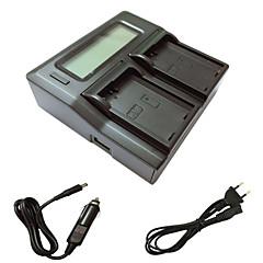 Ismartdigi el14 eu lcd διπλός φορτιστής με καλώδιο φόρτισης αυτοκινήτου για nikon en-el14 d3200 d3300 d5100 d5200 d5300 d5500 μπαταρία
