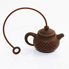 ieftine -Silicon Strecurătoare Ceai Reutilizabil . 5.0*3.5*3.0