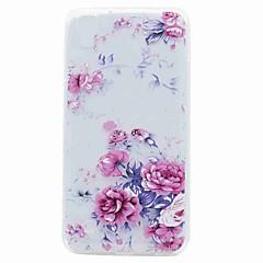 Til lg k10 k8 g6 case cover gennemsigtigt mønster bagside cover blomst soft tpu til lg v20 x strøm