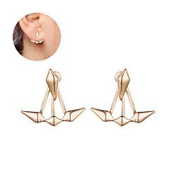 preiswerte Ohrringe-Damen Ohrstecker - Einzigartiges Design Gold / Silber Für Weihnachts Geschenke / Hochzeit / Party