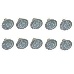 preiswerte LED-Birnen-10 Stück 3W 350-400lm GU10 GU5.3(MR16) E27 Wachsende Glühbirne MR16 28 LED-Perlen SMD 5733 Blau Rot 220V 110V