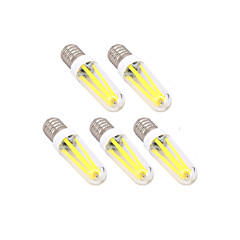4W E14 G9 LED Filament Bulbs T leds Dimmable Warm White Cold White 300lm 3000   6000K AC 220-240V