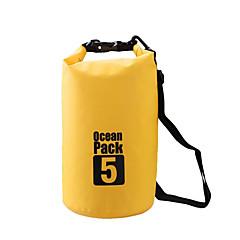 5 L Rezistent la apa Dry Bag Geantă Uscată Impermeabil pentru Alpinism Înot Plajă Camping & Drumeții
