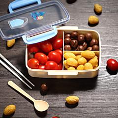 abordables Almacenamiento para la Cocina-1 unid plástico almuerzo comida cocina almacenamiento de alimentos de alta calidad nuevo estilo