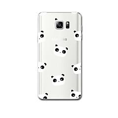 Для Чехлы панели Ультратонкий С узором Задняя крышка Кейс для Мультяшная тематика Мягкий TPU для Samsung Note 5 Note 4 Note 3