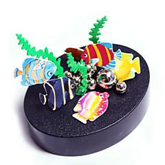 النحت المغناطيسي مجموعة اصنع بنفسك ألعاب المغناطيس عرض الموديل تركيب معدني قطع ألعاب إبداعي مغناطيس اصنع بنفسك غني بالألوان دائري سمك