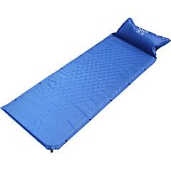 abordables Camas de Camping-Sheng yuan Colchón Inflable / Colchoneta de dormir Al aire libre Camping Aislamiento de la cabeza, A Prueba de Humedad, Inflado CLORURO