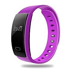 Lemfo qs80 smart armbånd / smartwatch / bluetooth 4,0 wristband hjertefrekvensmåler søvn fitness tracker for ios android telefon