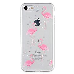 abordables Ofertas de Hoy-Funda Para Apple iPhone 7 Plus iPhone 7 Diseños Funda Trasera Flamenco Brillante Suave TPU para iPhone 7 Plus iPhone 7 iPhone 6s Plus