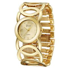 お買い得  大特価腕時計-女性用 リストウォッチ クォーツ カジュアルウォッチ クール ステンレス バンド ハンズ バングル ゴールド - ゴールド