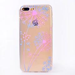 Для iphone 7 7 плюс чехол чехол прозрачный узор задняя крышка чехол одуванчик мягкий tpu для iphone 6s 6 плюс 6s 6 se 5s 5