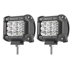 abordables Iluminación para Vehículos Industriales-2pcs Coche Bombillas 27W SMD 3030 5400lm LED Luz de Trabajo