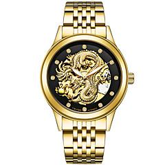 abordables San Valentín-Hombre Hombres Reloj Deportivo Reloj Militar Reloj de Vestir Reloj Esqueleto Reloj de Moda Simulado Diamante Reloj Reloj de Pulsera Reloj