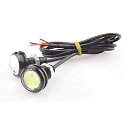 1,5w dc12v cob witblauw auto 23mm adelaar ooglamp ultra-dunne schurk schroef teller achterlicht super waterdichte lamp 1pair