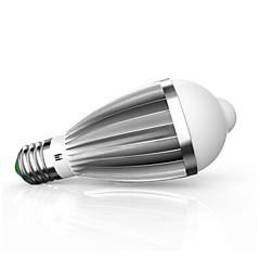 preiswerte LED-Birnen-9W 880lm E26 / E27 Smart LED Glühlampen G60 18 LED-Perlen SMD 5630 Infrarot-Sensor Lichtsteuerung Menschlicher Körper Sensor Warmes Weiß