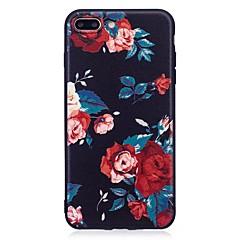Для iphone 7 плюс 6 плюс 6s se 5s 5 чехол чехол для цветочного узора задний чехол мягкий tpu