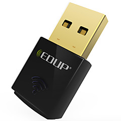 Edup usb trådløs wifi adapter 300mbps wirless nettverkskort wifi dongle mini ep-n1557