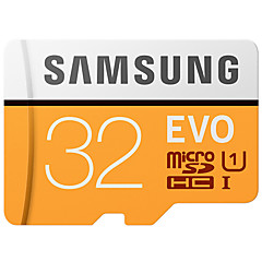 abordables Cartes Mémoire-SAMSUNG 32Go TF carte Micro SD Card carte mémoire UHS-I U1 Class10 EVO