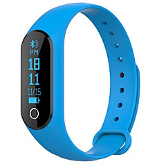 voordelige Smartwatches-Slimme armbandVerbrande calorieën Stappentellers Logboek Oefeningen Sportief Hartslagmeter Touch Screen Afstandsmeting Berichtenbediening
