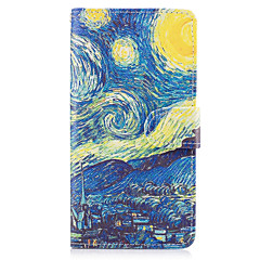 Case for samsung galaxy note 5 case cover the starry sky pattern pu кожаные чехлы
