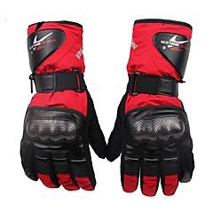 Sports Gloves Unisex Cycling Gloves Winter Bike GlovesKeep Warm Waterproof Windproof Breathable Anti-skidding Protective Fleece Lining
