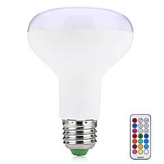 10W E27 LED Smart Bulbs R80 38 SMD 5050 800 lm Warm White RGB K Remote-Controlled Decorative V