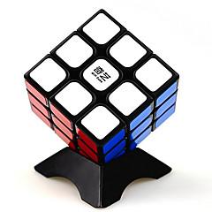 abordables Cubes Magiques-Rubik's Cube QI YI 3*3*3 Cube de Vitesse  Cubes Magiques Casse-tête Cube Autocollant Lisse Carré Cadeau