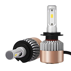 Недорогие Автомобильные фары-2pcs H7 Автомобиль Лампы 36W Интегрированный LED 3600lm Светодиодная лампа Налобный фонарь