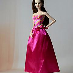 Vestidos Vestido Para Boneca Barbie Vestido Para Menina de Boneca de Brinquedo