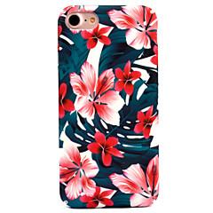 Käyttötarkoitus iPhone 8 iPhone 8 Plus kotelot kuoret Kuvio Takakuori Etui Kukka Kova PC varten Apple iPhone 8 Plus iPhone 8 iPhone 7