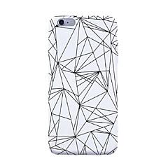 Недорогие Кейсы для iPhone 6-Кейс для Назначение Apple iPhone X iPhone 8 С узором Кейс на заднюю панель Полосы / волосы Плитка Геометрический рисунок Мягкий ТПУ для
