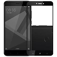 Недорогие Защитные плёнки для экранов Xiaomi-Защитная плёнка для экрана для XIAOMI Xiaomi Redmi 4X Закаленное стекло 1 ед. Защитная пленка на всё устройство HD / Уровень защиты 9H / Взрывозащищенный