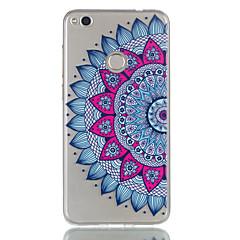Til huawei p9 lite p8 lite (2017) cover til dame mandala mønster relief dijiao tpu materiale høj gennem telefon taske p8 lite