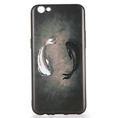 Til oppo r9s r9s plus case cover mønster bag cover case tegneserie soft tpu r9 r9 plus