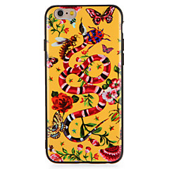 Etui til Apple iPhone7 7 Plus Flower Butterfly Animal Pattern Hard PC til iPhone 6s plus 6 plus 6s 6