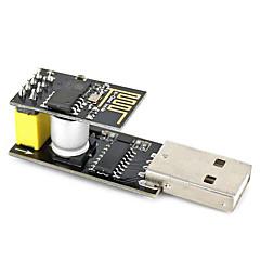Usb la esp-01 adatper negru esp-01 esp8266 wi-fi modul wireless