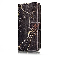 Huawei p10 p10 lite burkolata kártya tulajdonosa pénztárca teljes test esetében márvány kemény PU bőr P9 lite P8 lite P8 lite2017