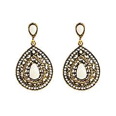 preiswerte Ohrringe-Damen Geometrisch Tropfen-Ohrringe - Tropfen Personalisiert, Geometrisch, Einzigartiges Design Grün / Blau / Regenbogen Für Weihnachts Geschenke Hochzeit Party