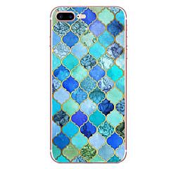 Недорогие Кейсы для iPhone 7-Кейс для Назначение Apple iPhone 7 / iPhone 7 Plus С узором Кейс на заднюю панель Геометрический рисунок Мягкий ТПУ для iPhone XS / iPhone XR / iPhone XS Max