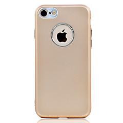 Недорогие Кейсы для iPhone 7 Plus-Кейс для Назначение Apple Покрытие Задняя крышка Сплошной цвет Мягкий TPU для iPhone 7 Plus iPhone 7 iPhone 6s Plus iPhone 6 Plus iPhone