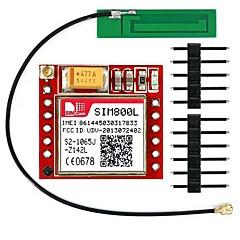 Sim800l ipex dört bantlı gprs gsm koparma modülü 3g anten