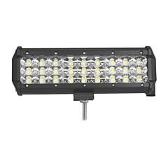 abordables Iluminación para Vehículos Industriales-81w-fila 8100lm punto de la inundación combo del fascio llevó la luz de la barra de luz del trabajo conducido conduciendo lampada 12 v 24