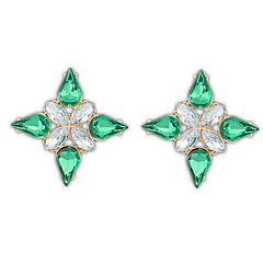 Dames Oorknopjes Druppel oorbellen Ring oorbellen imitatie Diamond Basisontwerp Uniek ontwerp Logostijl Vriendschap Turks Modieus Gothic