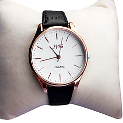preiswerte Tolle Angebote auf Uhren-Damen Armbanduhr Großes Ziffernblatt PU Band Retro / Modisch / Kleideruhr Schwarz / Braun